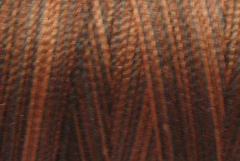 M90 Chocolate Brownies 50wt 1080 yds - Valdani Hand Dyed Cotton Variegated Thread q1
