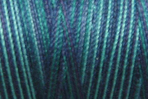 M95 Mediterrana 50wt 1080 yds - Valdani Hand Dyed Cotton Variegated Thread q1