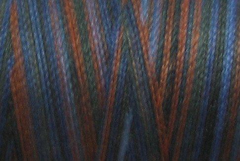 M53 Moonlit Mountain 50wt 1080 yds - Valdani Hand Dyed Cotton Variegated Thread q1