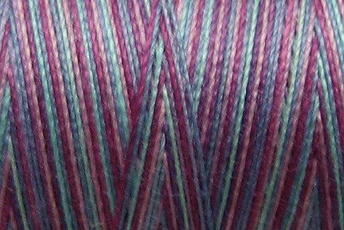 M33 Lollipop 35wt 1080 yds Valdani Hand Dyed Variegated Cotton Quilting Thread  q1