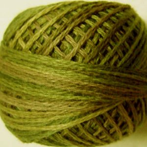 O519 Green Olives Three-Strand-Floss ® Valdani 0519 cotton 29yd ball Free Ship US q6