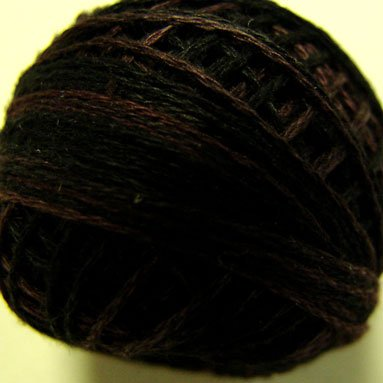 Punchneedle O524 Maroon Moss 3 Strands Cotton Floss Valdani 0524 29yd ball Free Shipping US q6