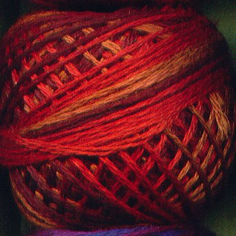 O533 Golden Autumn Three-Strand-Floss ® Valdani punchneedle cotton 0533 29yd ball Free Ship US q6