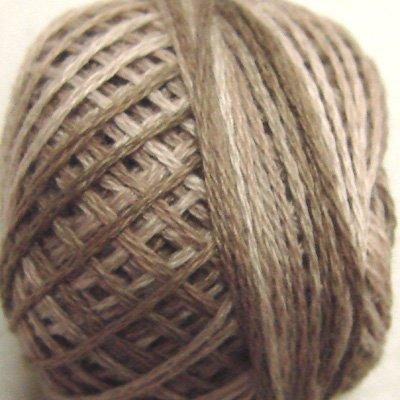 P3 Aged White (medium) size 8 Overdyed Pearl Cotton Valdani Vintage Hues q6