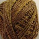 P5 Tarnished Gold size 12 Overdyed Pearl cotton Valdani Vintage Hues  q6