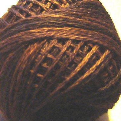 P9 Bronze size 12 Overdyed Pearl Cotton Valdani Vintage Hues  q6