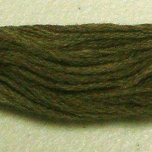 O518 Dusty Leaves - six strand cotton floss 0518 Valdani free ship US CA q1