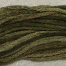 O519 Green Olives - six strand cotton floss 0519 Valdani free ship US CA q3