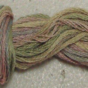 O520 Vintage Pastels - six strand cotton floss Valdani - free ship US CA - q1