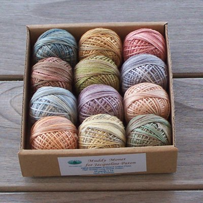 JP00 Muddy Monet for J. Paton 3 strand floss collection Free Ship US CA q2