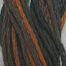 O532 Orange Charcoal - six strand cotton floss Valdani - free ship US CA - q4
