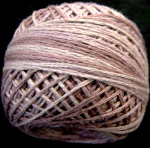 JP3  Sweet Violets Muddy Monet collection Three-Strand-Floss ® Valdani  29yds balls q6
