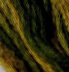 P2 Olive Green  J Paton six strand cotton floss Valdani free ship US CA q6