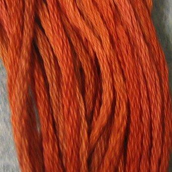 P6 Rusted Orange  J Paton six strand cotton floss Valdani free ship US CA q5
