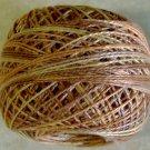 O581 Spun Wheat Pearl Cotton size 12  Valdani Overdyed 0581 q6