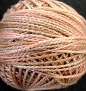 JP5 Nantucket Rose Muddy Monet Collection Valdani  Pearl Cotton size 12  q6