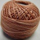 H206 Washed Orange Heirloom Collection Valdani  Pearl Cotton size 12  q6