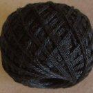 Punchneedle 8113 Black Dark 3 Strands Cotton Floss Valdani 29yd ball Free Shipping US q6