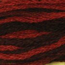 O553 Black Reds - discontinued product - six strand cotton floss Valdani  free ship US CA q4