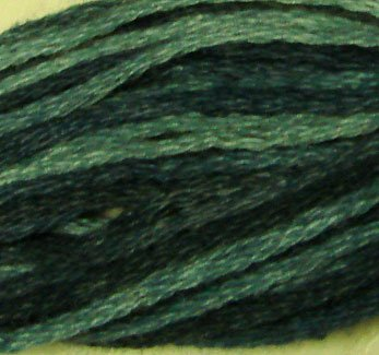 O537 Sea Deep - six strand cotton floss Valdani free ship US CA q2