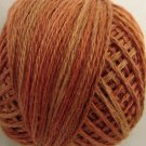 P6 Rusted Orange size 8 Overdyed Pearl Cotton Valdani Vintage Hues q4