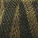 O501 Ebony Almond 35wt 500m Valdani Overdyed Thread  0501 q2