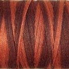O547 Burnt Chocolate 35wt 500m Valdani Overdyed Thread 0547 q1
