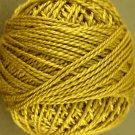 153 Antique Gold - Pearl Cotton size 12 - Valdani Solid color q1