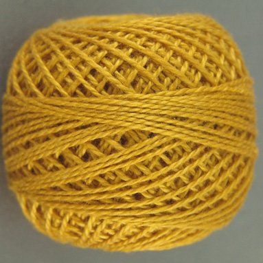 13 Rusty Orange  Pearl Cotton size 8  Valdani Solid color q6
