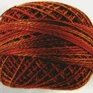 O534 Quiet Fall size 8 0534 Valdani Overdyed Pearl Cotton q1