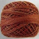 O506 Cinnamon Swirl Pearl Cotton size 8 0506 Valdani Overdyed q6