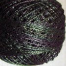 O536 Dark Spruce Pearl Cotton size 12  Valdani Overdyed 0536 q6