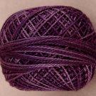 O592 Primitive Purple Pearl Cotton size 12  Valdani Overdyed 0592 q6