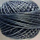 8111 Black light Perle cotton size 12  Valdani As Time Goes By q6