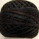 O511 Black Sea Pearl Cotton size 8  0511 Valdani Overdyed q6