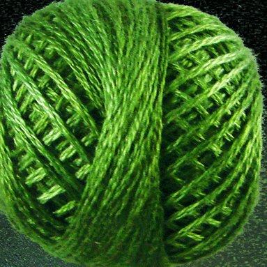 O560 Morning Grass 3 Strand Cotton Floss Valdani 0560 29yd ball q6