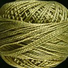821 Olive Green light Perle cotton size 12  Valdani As Time Goes By q2
