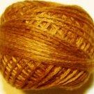 O217 Yummy Pumpkin Pearl Cotton size 8  Valdani Overdyed 0217 q6