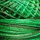 M79 Explosion in Greens Cotton size 12  Valdani Variegated q4