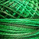 M79 Explosion in Greens Pearl Cotton size 8 Valdani Variegated q6