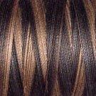 O111 Black Stone 35wt 500m Valdani Overdyed Thread  q1