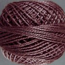 8103 Whitered Mulberry dark Perle cotton size 12  Valdani As Time Goes By q4