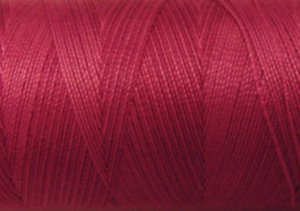O522 Raspberry 35wt 500m Valdani Overdyed Thread 0522 q2