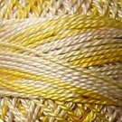 M67 Blurry Vanilla Pearl Cotton size 12  Valdani Variegated q6