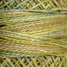 M80 Distant Grass Pearl Cotton size 8 Valdani Variegated q6