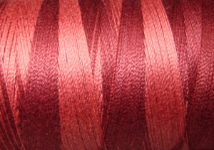 H204 Nostalgic Rose from the Heirloom Collection 35wt 500m Valdani Overdyed Thread  q2
