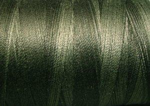 H209 Khaki Black from the Heirloom Collection 35wt 500m Valdani Overdyed Thread  q2