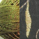 PT2 Green Twisted Tweed Valdani - Pearl Cotton size 12 q6