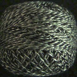 PT8 Dark Green Twisted Tweed Valdani - Pearl Cotton size 12 q6