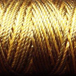 S153 Golden Moss - Silk perlé Au Ver à Soie by VALDANI 20m spool q4